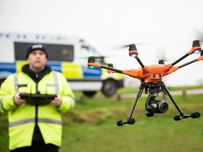 Police drones help arrest almost 100 crime suspects – and find 250 missing people – in nine months