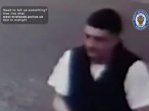A person police would like to speak to in connection with the robbery