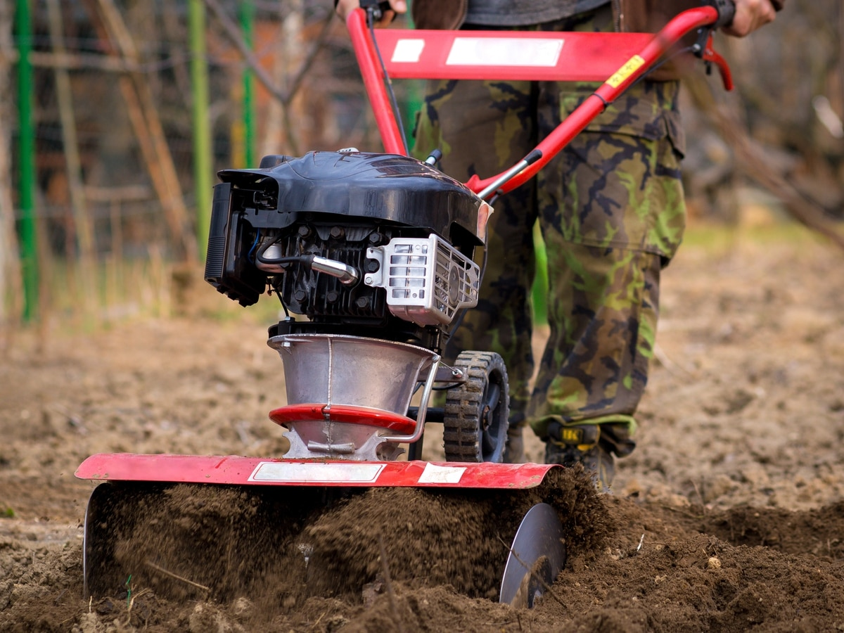 Andy Richardson: Another lawn, another chance to transform into Mr Rotavator