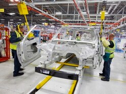 UK car sales still falling as Jaguar Land Rover workers return