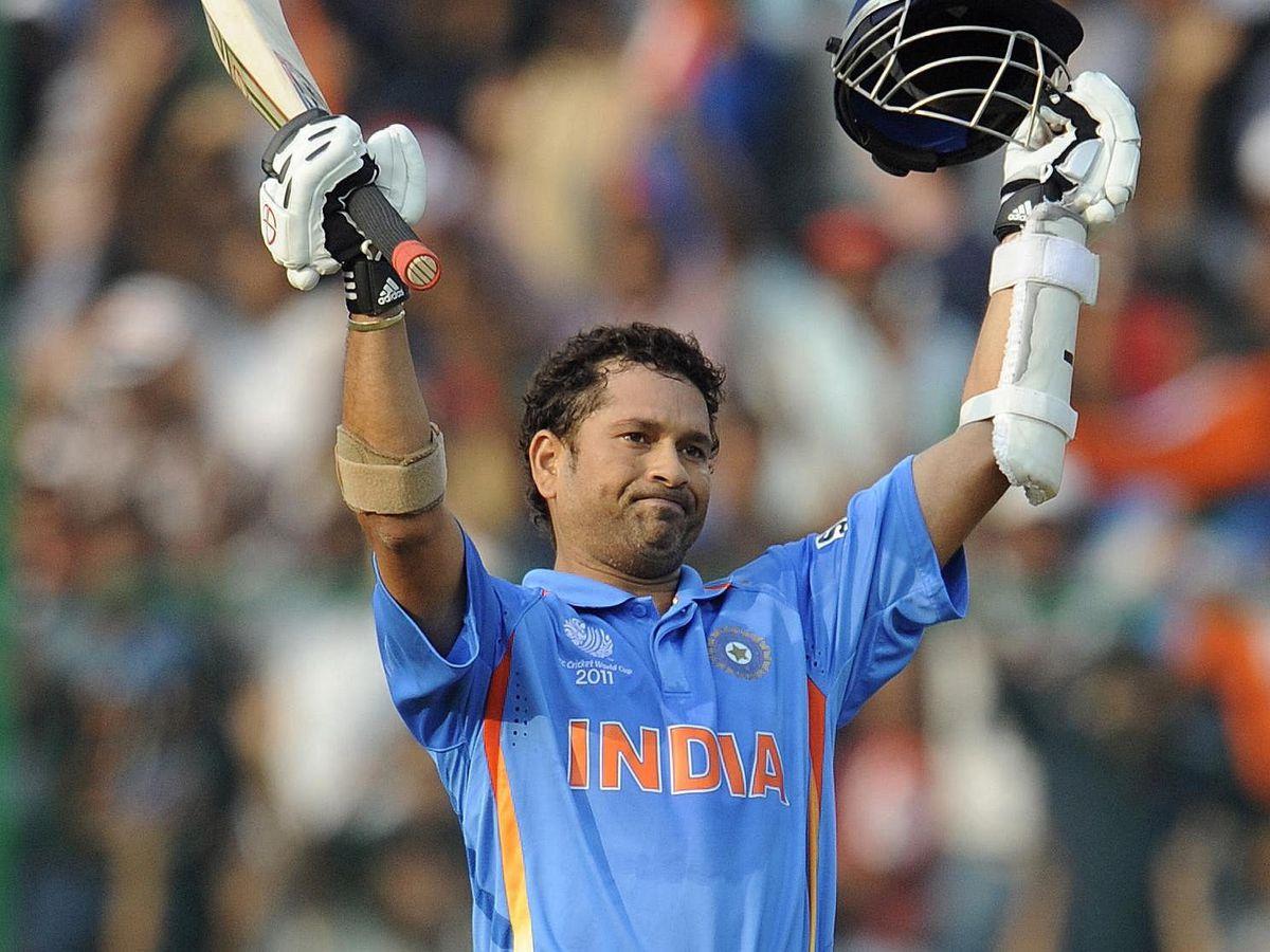 Sachin Tendulkar was the first batsman to score 200 in a one-day international