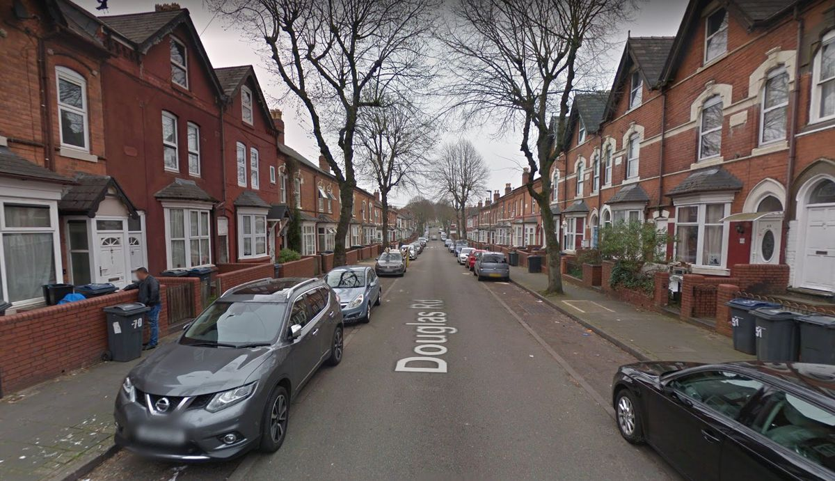 Douglas Road, in Handsworth. Photo: Google Maps