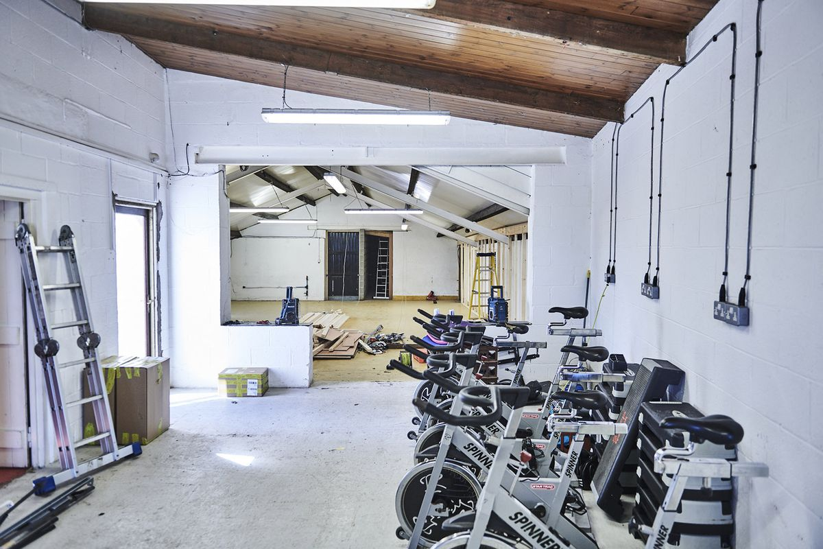New fitness centre takes shape