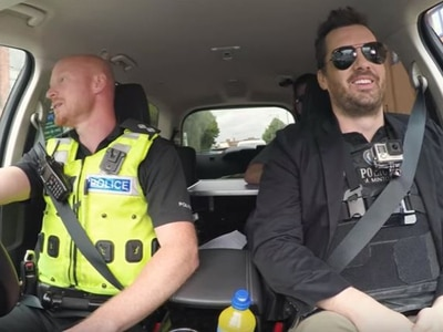Jim Jefferies goes on patrol with West Midlands Police: WATCH top comic head out on Birmingham's streets