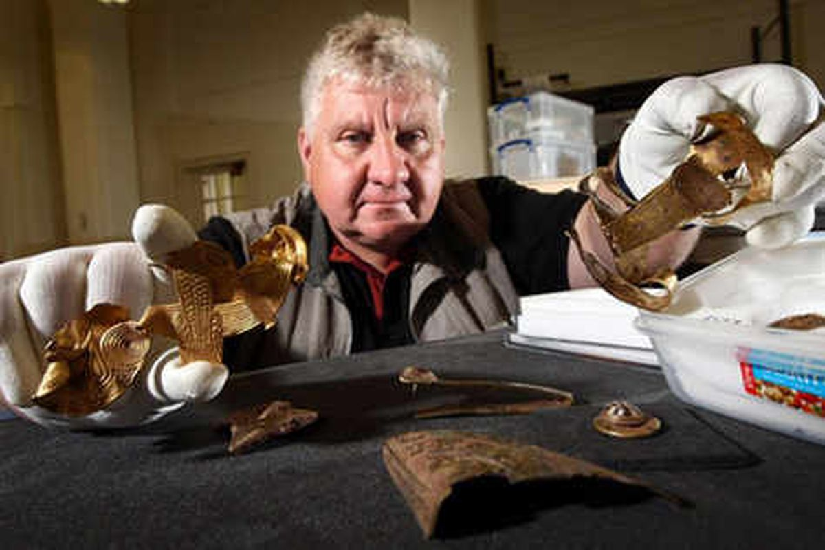 Golden times ahead for Staffordshire Hoard millionaire