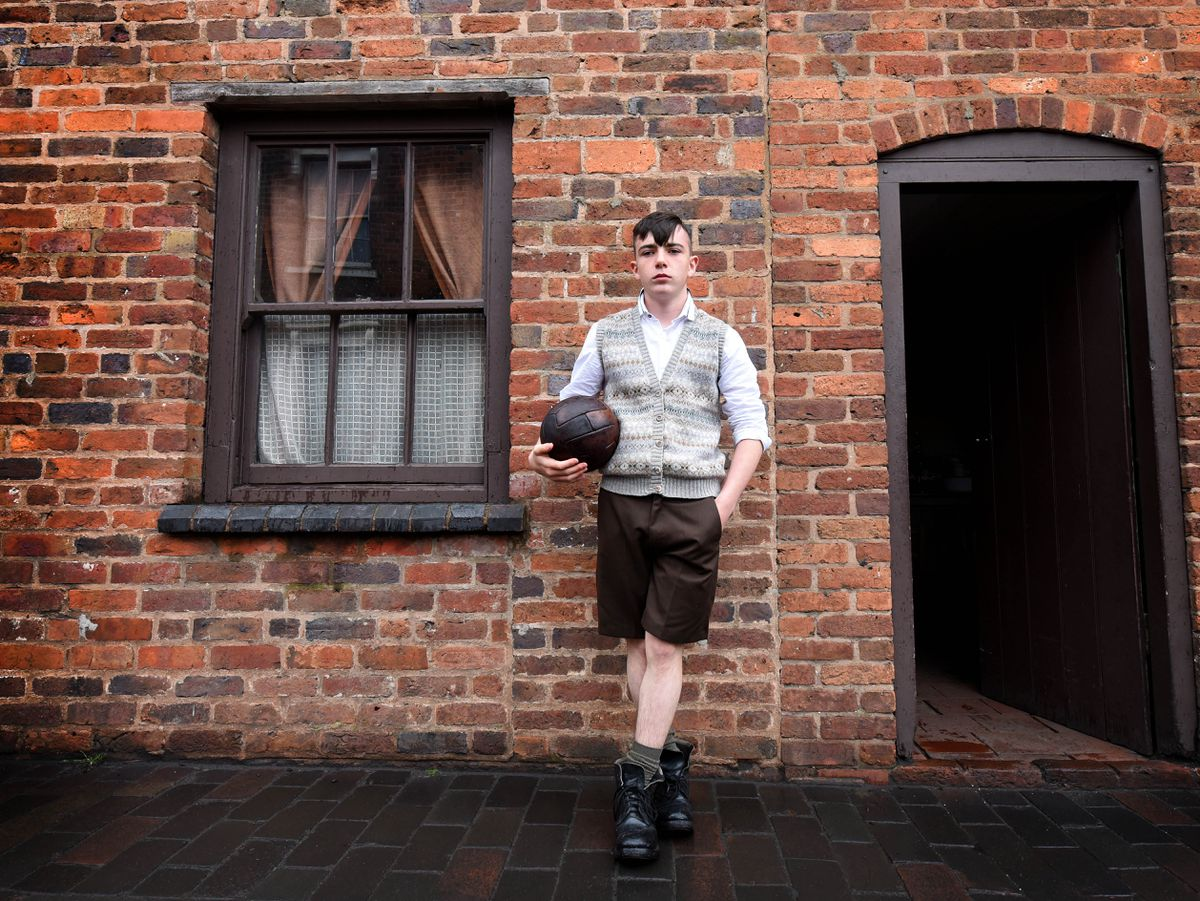 Callum Hay, who plays Duncan, at the Black Country Living Museum