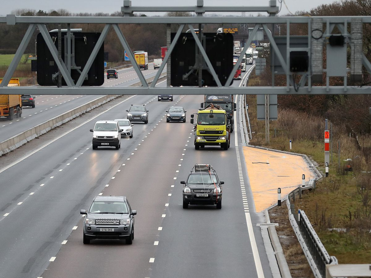 M6 smart motorway