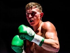Tommy Loach battles the pain to get back in the ring again