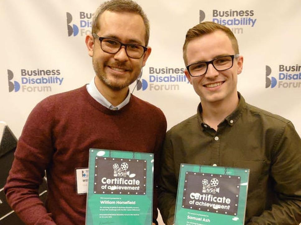 University of Wolverhampton students win film award