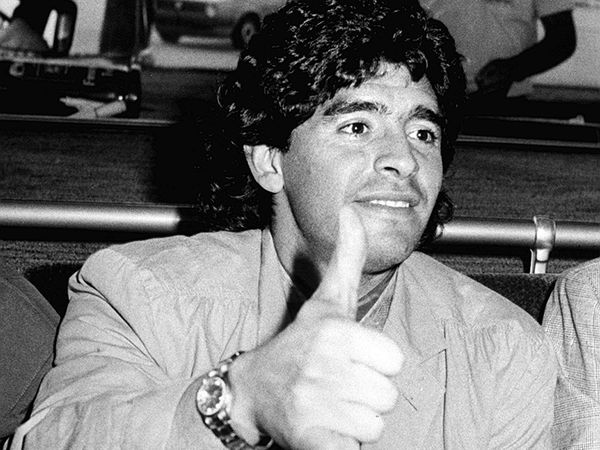 Diego Maradona in 1989