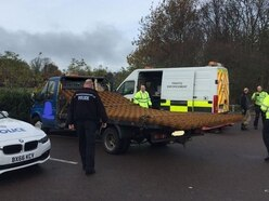 Vehicles seized and drivers reported after road safety crackdown in Walsall