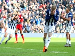 West Brom 1 Huddersfield 2 - Report and pictures