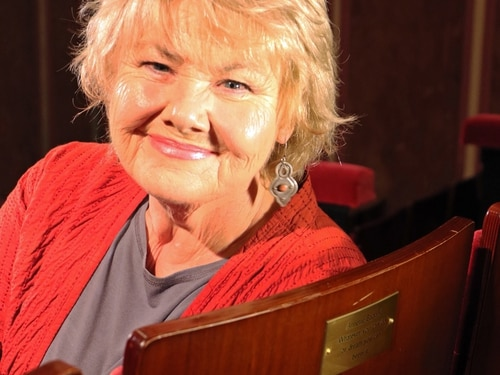 Annette Badland becomes latest Old Rep Theatre patron - with pictures