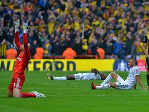 Dejected: Romain Saiss on the floor (AMA)