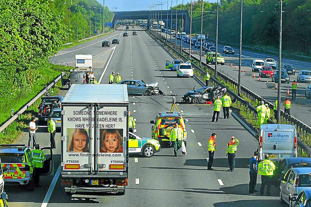 Driver accused over M6 baby death