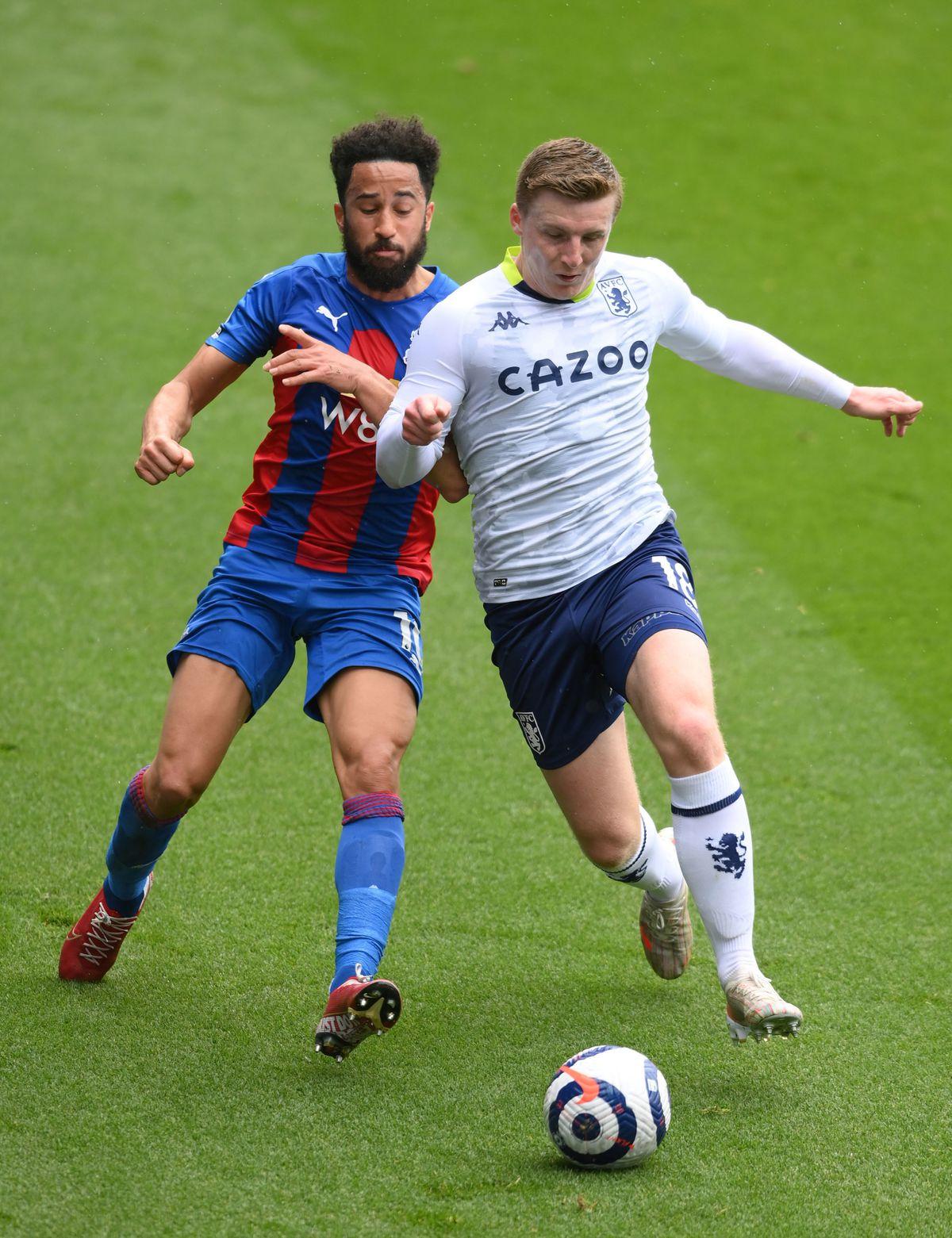 Full-back Matt Targett was one of Villa's most improved players.
