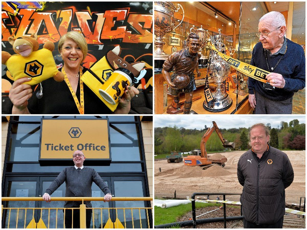 Meet the backroom staff helping bring success to Wolves
