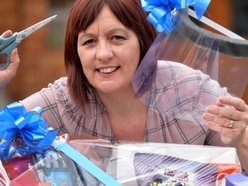 Lisa's hampers full of gifts sent out to Dudley hospital staff