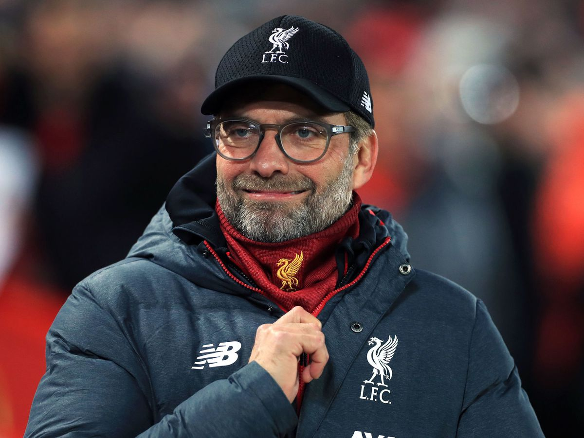"""Liverpool manager Jurgen Klopp before the Carabao Cup, Fourth Round match at Anfield, Liverpool. PA Photo. Picture date: Wednesday October 30, 2019. See PA story SOCCER Liverpool. Photo credit should read: Mike Egerton/PA Wire. RESTRICTIONS: EDITORIAL USE ONLY No use with unauthorised audio, video, data, fixture lists, club/league logos or """"live"""" services. Online in-match use limited to 120 images, no video emulation. No use in betting, games or single club/league/player publications."""