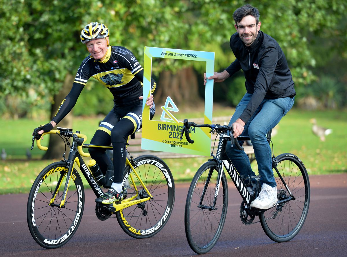 Robin Kyte and Andy Tennant are both excited about the event taking part in the city and the impact it can have on cyclists