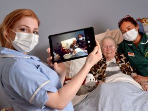 Oldbury at Portway House Specialist Care Centre, where they are using Zoom etc and technology to ensure realtives are kept in touch with residents