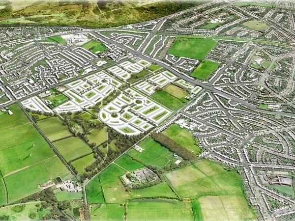 Major plans for 1,500 homes earmarked for greenbelt land