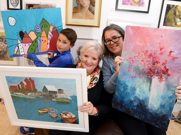 Artistic family's work helps support Wolverhampton's Light House