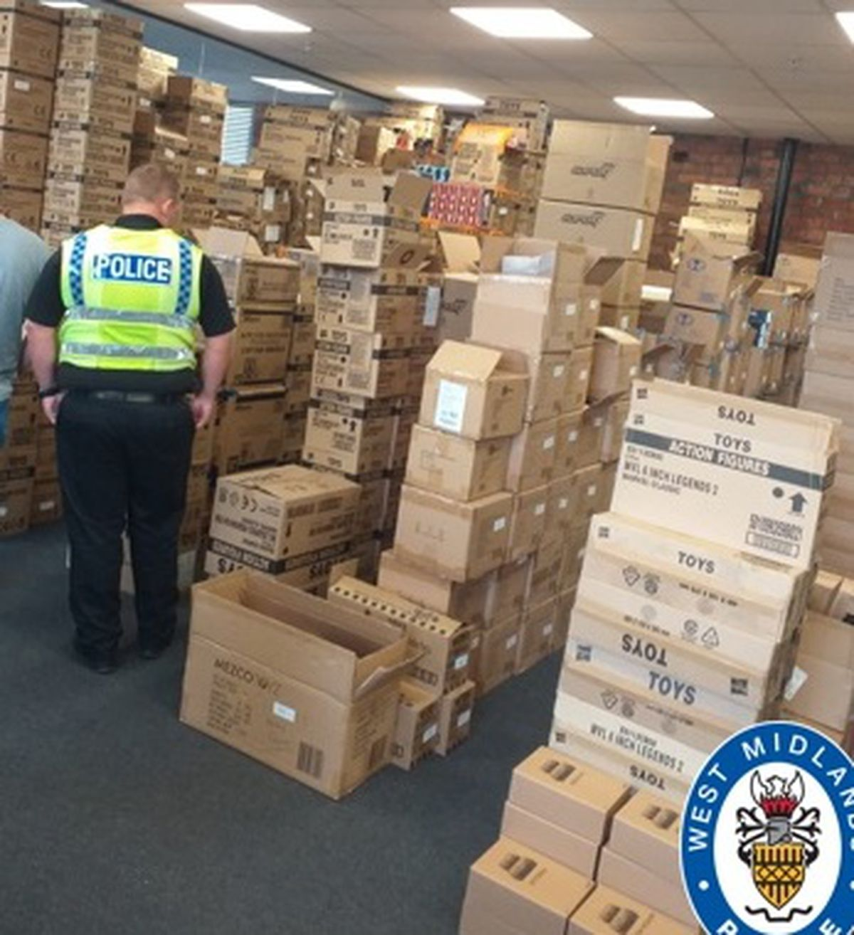 The huge haul of stolen toys, collectibles and old comics worth over £500,000
