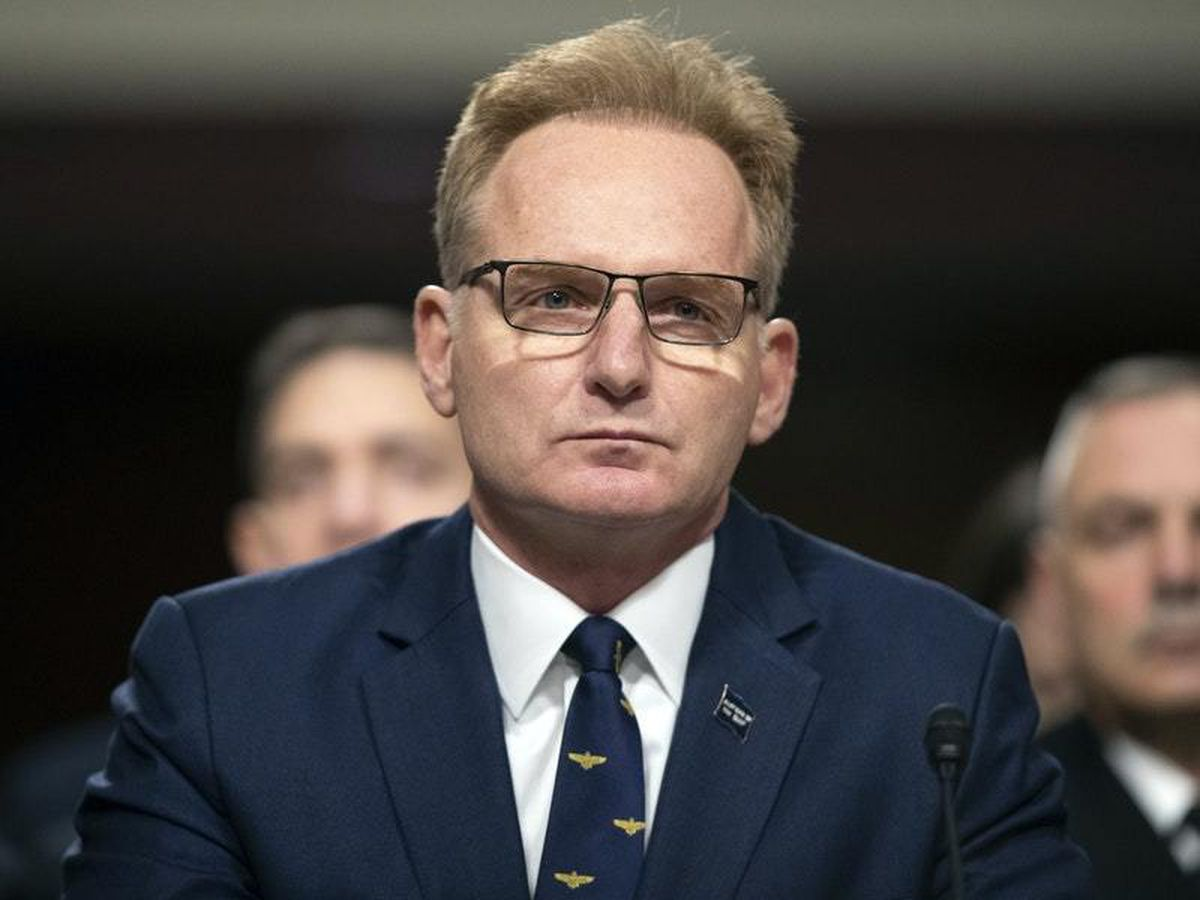 Acting US navy secretary Thomas Modly has submitted his resignation
