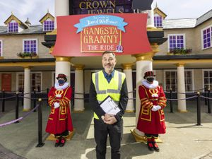 David Walliams officially gives the green light to Gangsta Granny: The Ride at Alton Towers