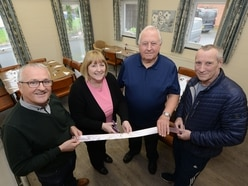 Former Goodyear workers help day centre