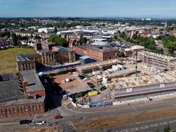 Work gathers pace to transform land near former Wolverhampton Royal Hospital