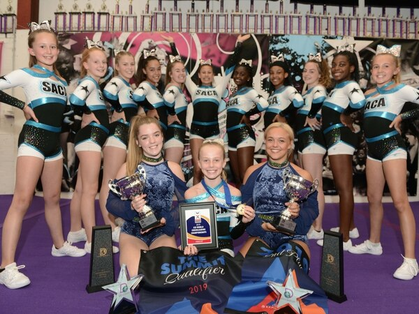 Wolverhampton cheerleaders celebrate Florida success