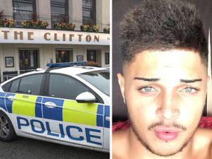 Reece Cox, right, has been named as the man killed outside The Clifton in Sedgley. Photos: SnapperSK/Facebook