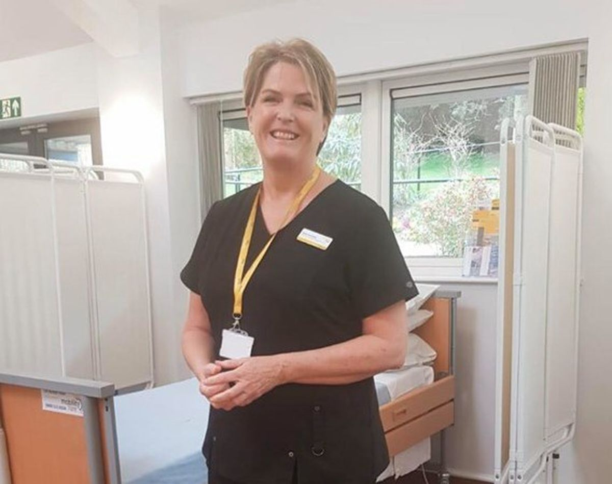 Compton Care's director of nursing and chief executive Rachel Overfield