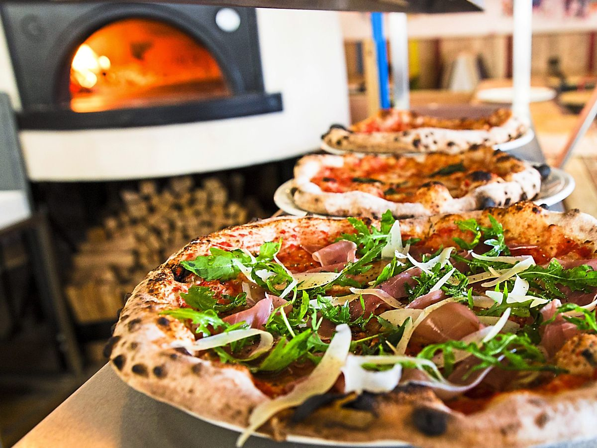 Spend your dough on these – a line-up of Baked in Brick's delicious pizzas