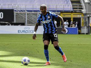 Inter Milan's Ashley Young
