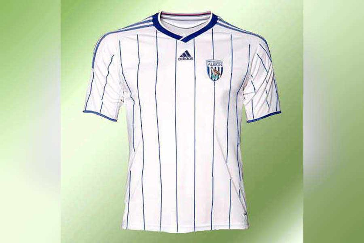 West Bromwich Albion's new kit given thumbs-down by fans