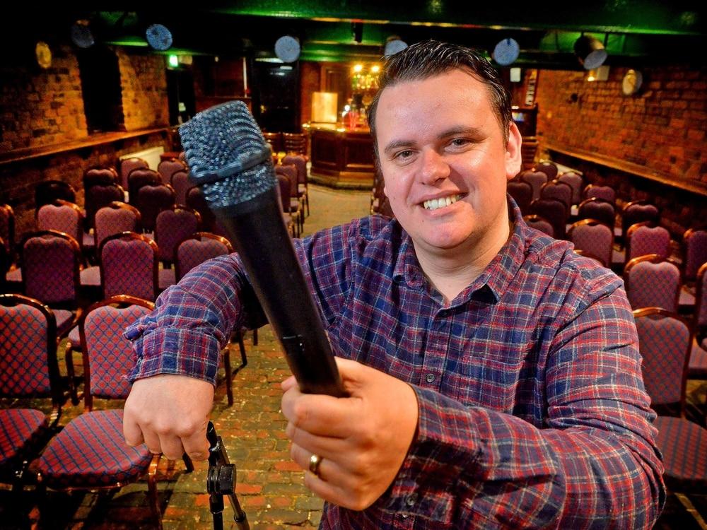 Cannock comedian Ian 'Sludge' Lees chose Wayne Beese replacement for Wolverhampton show