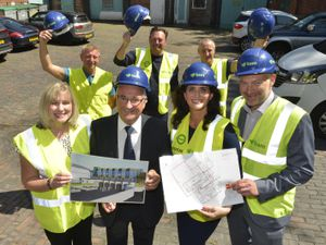 Construction team for Compton Care's multi-million pound hub named