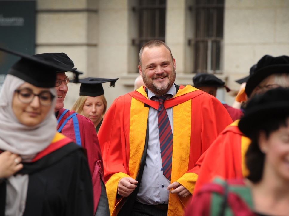 Al Murray says political reality has caught up with his comedy creation