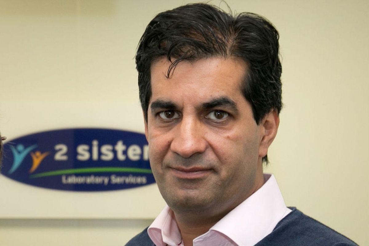 Ranjit Singh Boparan, from Bilston