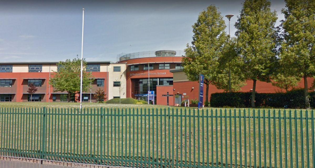 St Thomas More Catholic School, in Willenhall. Photo: Google Maps