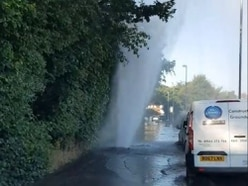 Water supplies hit to homes by burst mains in Great Barr