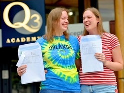 Twinning! Sisters prepare for university life as they celebrate A-level success