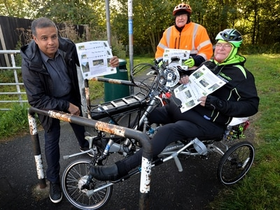 More than 1,000 sign petition on Walsall cycle path