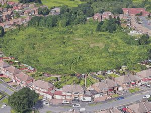 Waste land which developers want to build homes on. Photo: Google