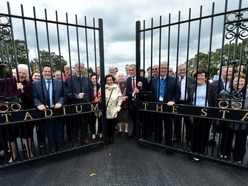 New play area officially opened at former Cannock Stadium