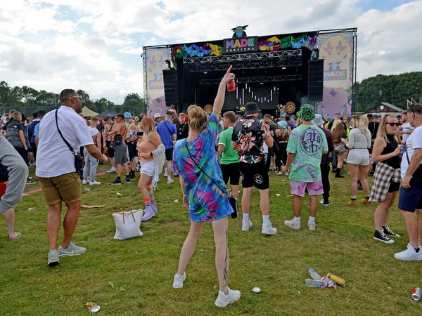 The Made Musical Festival, which took place last week. Sandwell Valley has become a popular location for festivals.