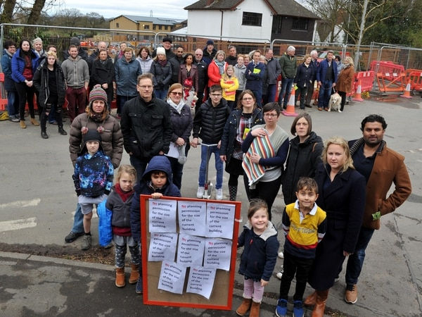 Angry neighbours protest against new Wolverhampton nursery